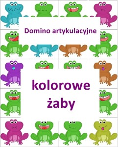 "Domino artykulacyjne ""Żaby"""